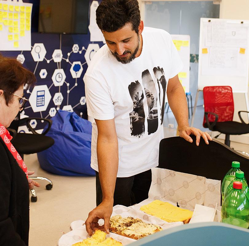 Parceiros, voluntários e conselheiros participaram de dinâmicas de grupo reforçando nossa causa pela educação.