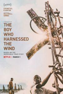 Capa do filme O Menino que descobriu o vento