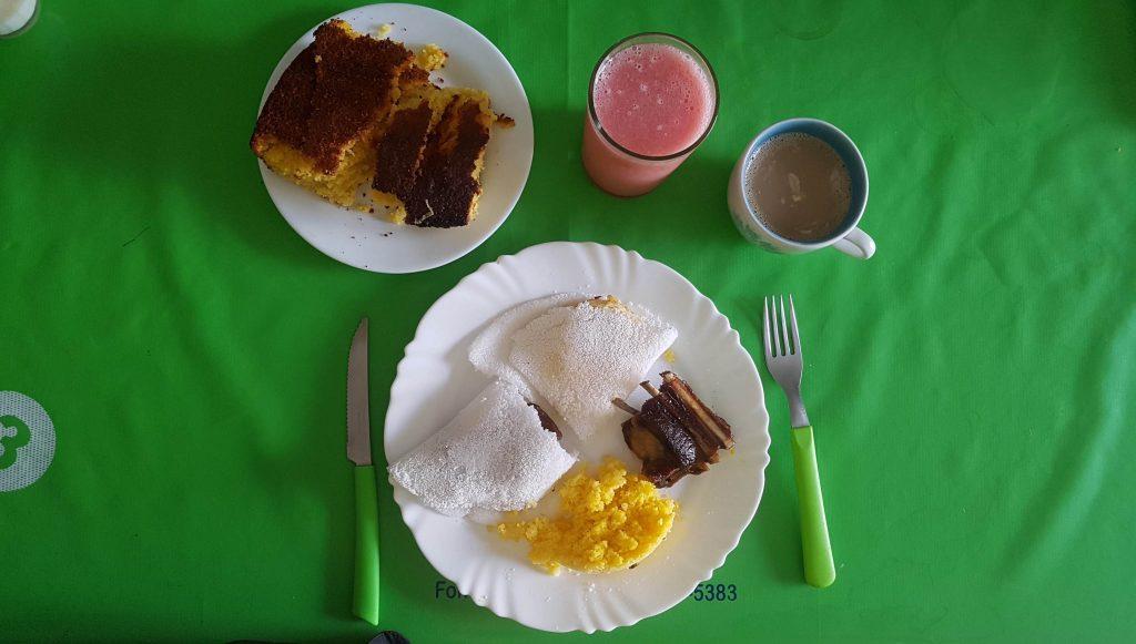 prato de comida tipico do sertão
