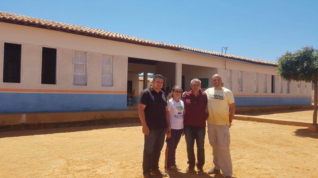 Foto com prefeito de betania do piaui